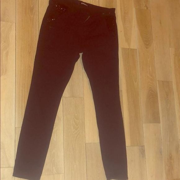 Express Denim - Express black jeans